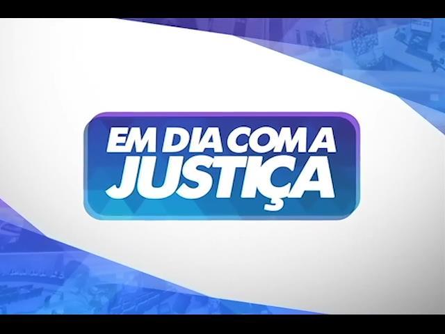 Campanha do Funjuris é destaque no programa 'Em Dia com a Justiça'